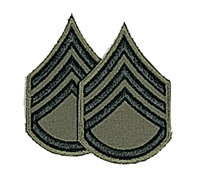 Rothco Subdued Staff Sgt Patch - 1634