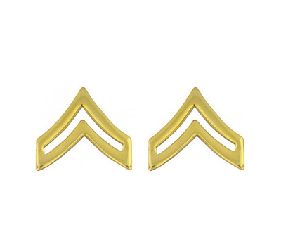 Rothco Polished Corporal Insignia Set - 1642