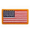 Rothco US Flag Patch with Gold Border - 1777