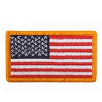 Rothco US Flag Patch with Yellow Border - 1777