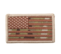 Rothco US Flag Patch With Hook Back - 17771