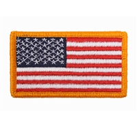 Rothco US Flag Patch With Hook Back - 17775