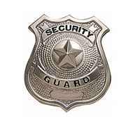 Rothco Security Guard Badge - 1900