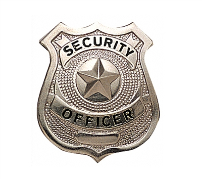 Rothco Security Officer Badge - 1901