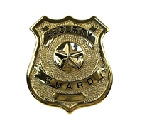 Rothco Gold Security Guard Badge - 1904