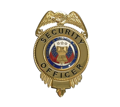 Rothco Deluxe Security Officer Badge - 1914