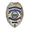 Rothco Silver Deluxe Security Enforcement Officer Badge - 1915