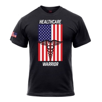 Rothco Healthcare Warrior US Flag T-Shirt 1937
