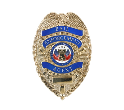 Rothco Deluxe Bail Enforcement Agent Badge - 1947