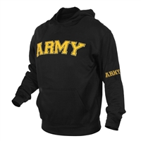 Rothco Black Army Pullover Hoodie - 2055