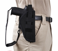 Rothco Black Tactical Pistol Lanyard - 20588