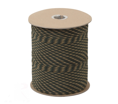 Rothco Woodland Camo Nylon 550lb 1000 Ft Paracord - 217
