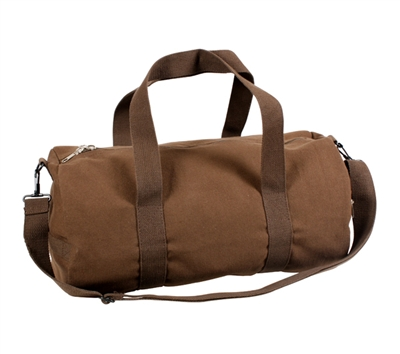 Rothco Brown Canvas Vintage Shoulder Bag - 2231