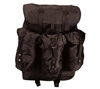 Rothco Black ALICE Pack With Frame - 2240