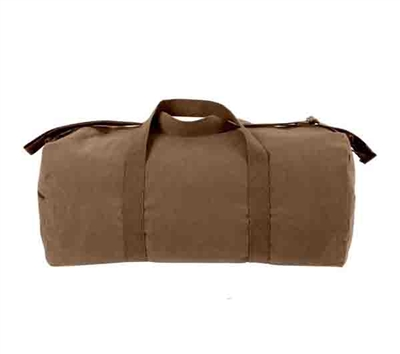 Rothco Brown Canvas Shoulder Bag - 2243