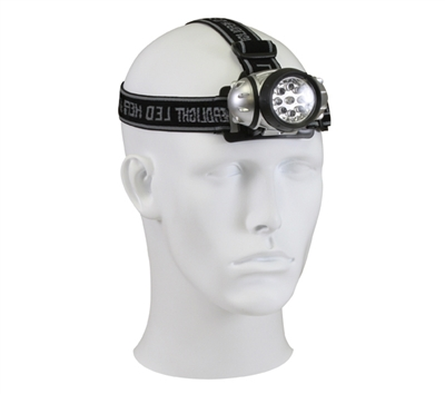 Rothco Nine Bulb LED Headlamp - 227