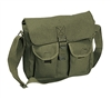 Rothco Olive Drab Canvas Ammo Shoulder Bag - 2277