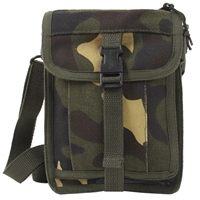 Rothco Woodland Camo Canvas Travel Portfolio - 2386