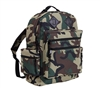 Rothco Woodland Camo Water Resistant Day Pack - 2334