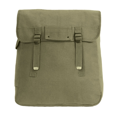 Rothco Olive Drab Canvas Jumbo Musette Bag - 2353