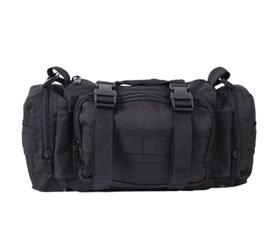 Rothco Black Tactical Convertipack - 23610