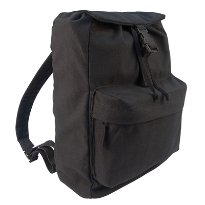 Rothco Black Canvas Day Pack - 2369