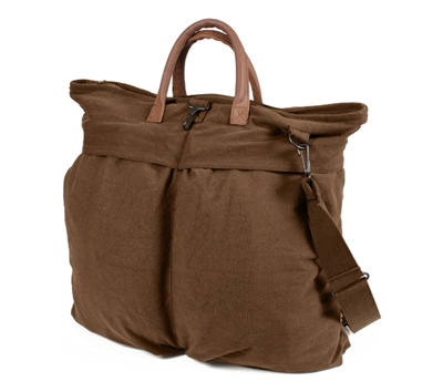 Rothco Brown Vintage Canvas Helmet Bag - 2419