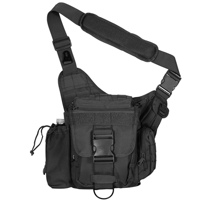 Rothco Advance Tactical Bag - Black - 2438