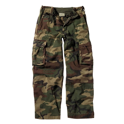 Rothco Kids Vintage Woodland Camouflage Fatigues - 2546