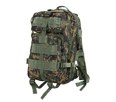 Rothco Woodland Digital Camo Medium Transport Pack - 2559