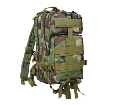 Rothco Woodland Camo Medium Transport Pack - 2579