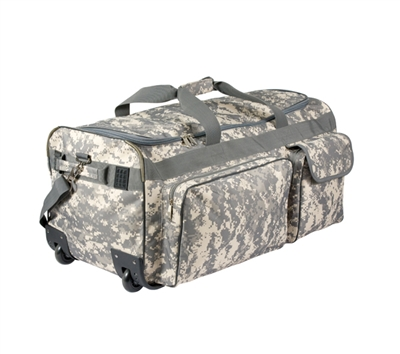 Rothco Digital Camo Expedition Wheeled Bag - 2654
