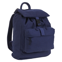 Rothco Navy Blue Canvas Daypack 2675