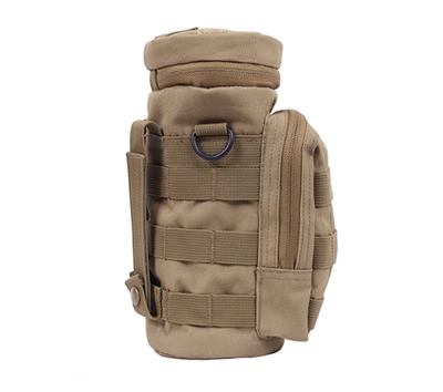 Rothco 2779 Coyote Molle Water Bottle Pouch