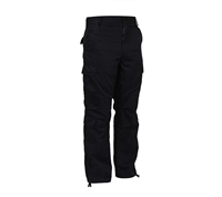 Rothco Vintage Black Paratrooper Pants - 2986