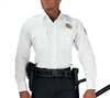 Rothco White Long Sleeve Security Uniform Shirt - 30000