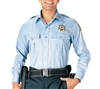 Rothco Light Blue Long Sleeve Security Uniform Shirt - 30010