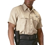 Rothco Khaki Short Sleeve Uniform Shirt - 30035