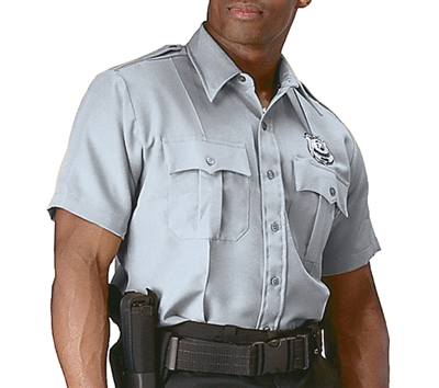 Rothco Grey Short Sleeve Uniform Shirt - 30045