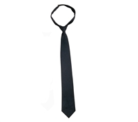 Rothco Black Velcro Closure Police Issue Necktie - 30083
