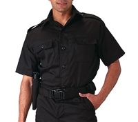 Rothco Black Short Sleeve Tactical Shirt - 30205