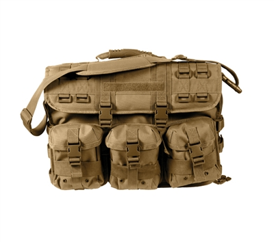 Rothco Coyote Molle Tactical Laptop Briefcase - 3191