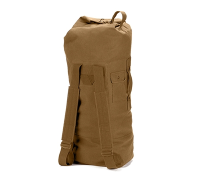 Rothco Coyote Double Strap Duffle Bag - 3426