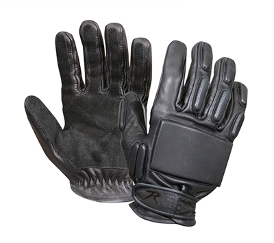 Rothco Black Full Finger Rappelling Gloves - 3451