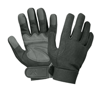 Rothco Black Military Mechanics Gloves - 3468