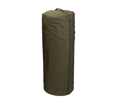 Rothco Olive Drab Side Zipper Duffle Bag - 3478