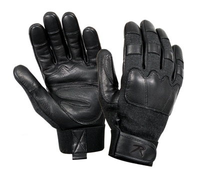 Rothco Black Kevlar Tactical Gloves - 3483