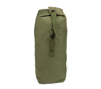 Rothco Olive Drab Top Load Canvas Duffle Bag - 3497