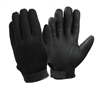 Rothco Black Cold Weather Rubber Duty Gloves - 3558