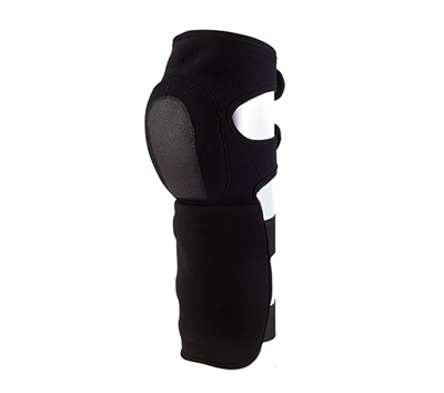 Rothco Black Synthetic Shin Guards - 3568
